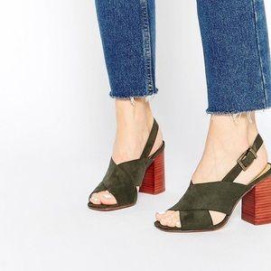 ASOS TOMORROW 70s Heeled Sandals